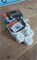 FLEXIBLE POWER STRIP 4 OUT 2 USB