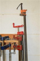 Assorted Bar Clamps