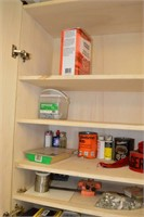 Wall Cabinet with contents (bring boxes)