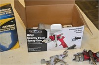 Vapor HVLP Gravity Feed Spray Gun