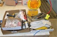 (2) Boxes of Hardware- hinges, coat hooks, etc
