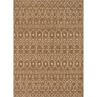 Medusa Nord Brown Moroccan Tribal in / outdoor Rug