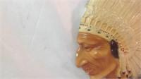 10 x 8 chalk Indian head