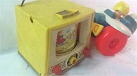 Two vintage Fisher-Price toys