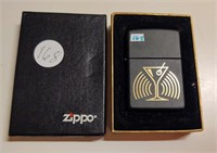 Zippo lighter with martini glass - unused