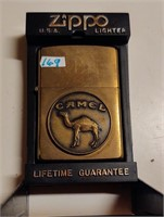 Zippo Camel emblem lighter