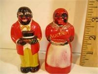 ANTIQUE SALT&PEPPER SHAKERS