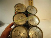 VINTAGE 7UP CANS
