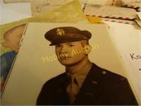 KOREAN WAR MEMO. PICS&POST CARDS
