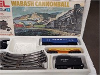 Lionel Size O-27 Gauge Wabash Cannonball train set