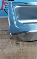 All-in-One Drop-in Stainless Steel 15 in. Bar Sink