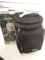 The ultimate Golfpack Cooler that holds 12 cans