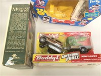 Lot of assorted Toys still on boxes incl. WW