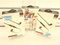 3 NIB Big Daddy Bass Sports Wireless Headphones