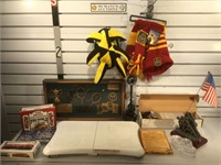 Lot of assorted items Wii, frame and more