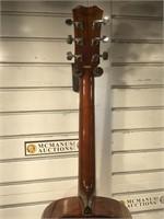 Professional Alvarez acoustic guitar. The neck