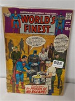 Old superman and Batman together in worlds finest