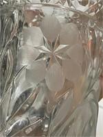 Gorgeous etched vase