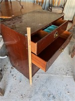 Gentlemens dresser-42… Lower two drawers are
