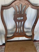 2 sturdy antique chairs -40