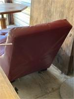 Mid Century retro chaise lounge- 55  super cool!!
