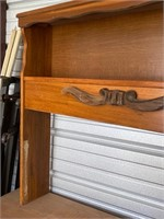 Twin headboard cabinet  -55