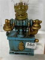 small oil lamp