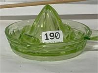 uranium depression glass juicer