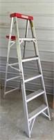 Cuprum alum 6' step ladder  #52