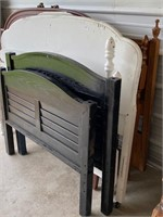 a stack of head and footboards - #52 misc sizes-