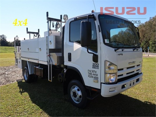 2009 Isuzu NPS 300 4x4 Used Isuzu Trucks - Trucks for Sale