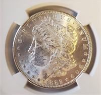 1882 SILVER MORGAN DOLLAR MS63 (2)