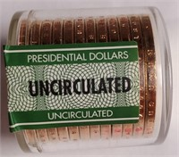 LOT OF UNCIRCULATED PRESIDENTIAL DOLLARS (30)