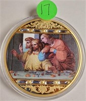 THE LAST SUPPER COLLECTABLE COIN (17)