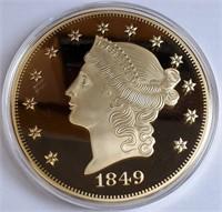 1849 REPLICA COPY COIN - SEE PICS (20)