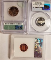LOT OF GRADED COINS - SEE PICS (26)