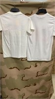 11 Each White Patriotic T-Shirts Various Sizes