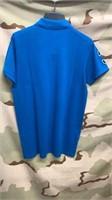 17 Each Blue U.S Polo Shirts Large New