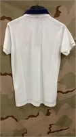 25 Each White U.S Polo Shirts Medium New
