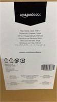 1 Box Flag Display Case Walnut 3 Per New