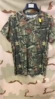 9 Each Mossy Oak T-Shirts Medium New