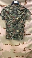 32 Each Camo Mossy Oak T-Shirts Small  New