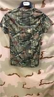 32 Each Camo Mossy Oak T-Shirts Small  New