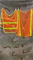 5 Each Hi-Vis Safety Vest New
