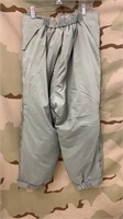 14 Each Gray Extreme Cold Weather Trousers New