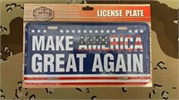 5 Each Make America Great Again License Plate New