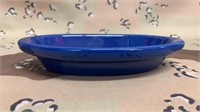 32 Each 8oz Cobalt Blue Glaze Dishes New