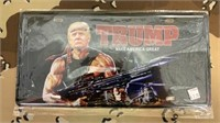 6 Each Trump Rambo License Plate New