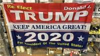 5 Each Trump 2020 Flags New