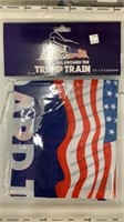 5 Each Trump Train Flags New